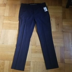 H and m slim fit size 33 dress pants navy